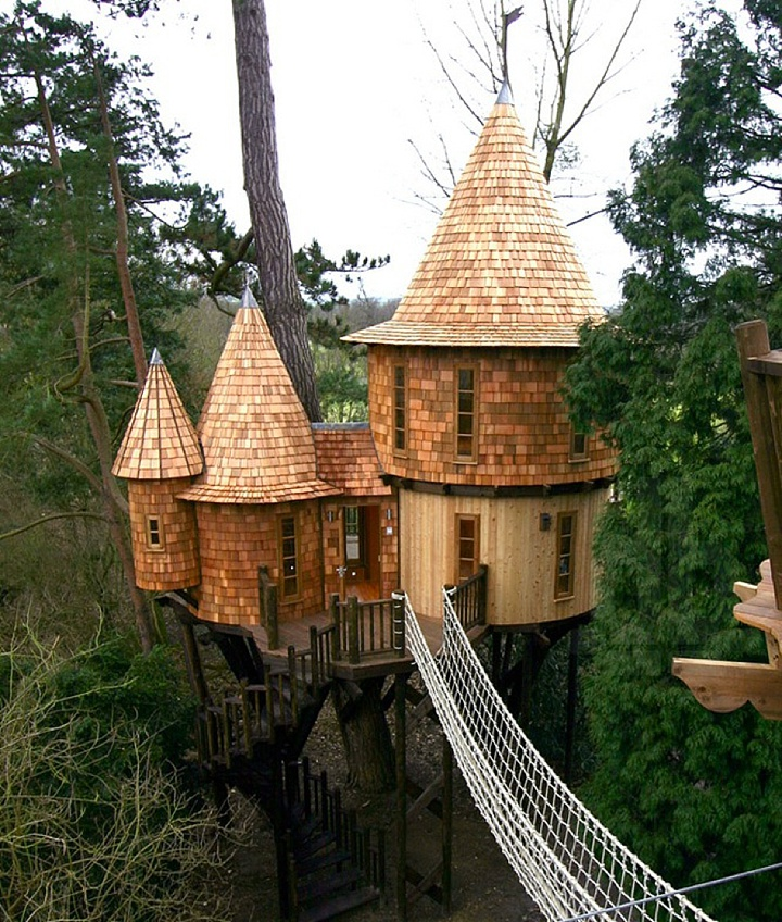 UK Honeymoon in a treehouse Ideas