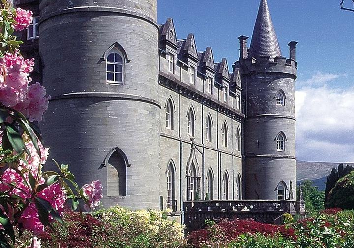 UK Honeymoon Ideas in a castle