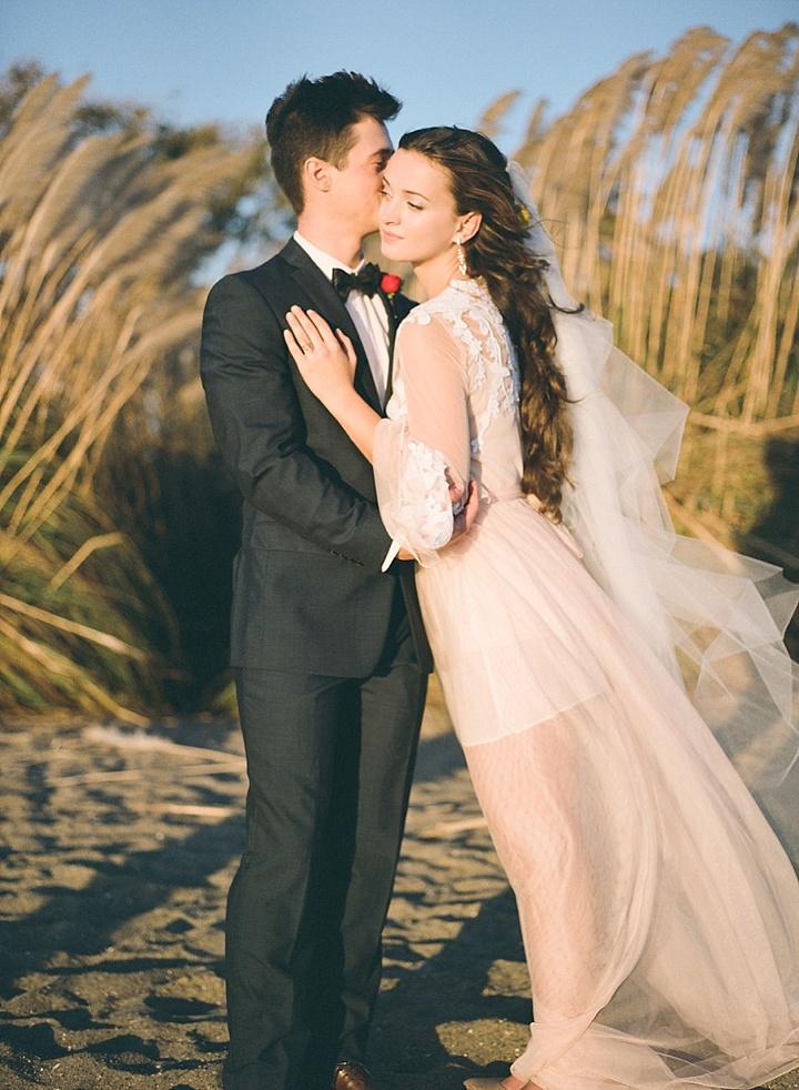Bohemain Beach bride and groom Anniversary Shoot by Aizhan