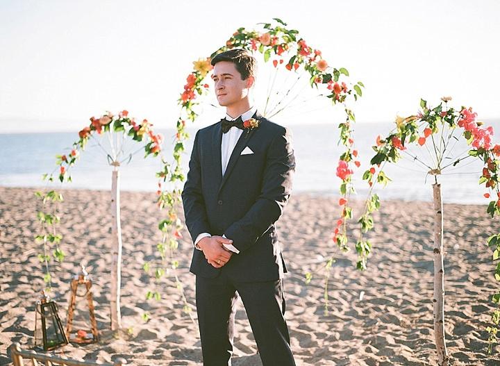 Bohemain Beach groom Anniversary Shoot by Aizhan