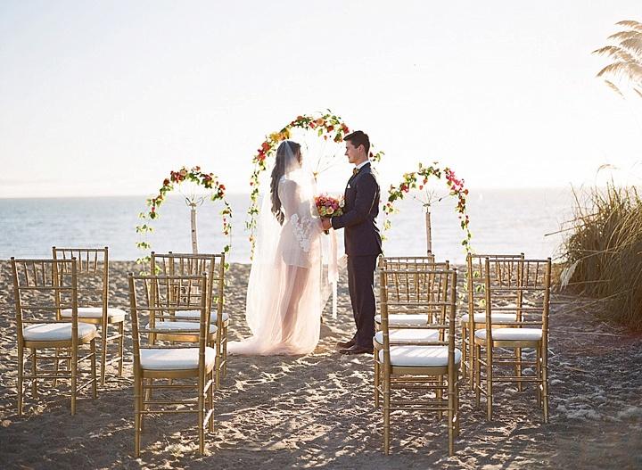Bohemain Beach renew of vows Anniversary Shoot by Aizhan