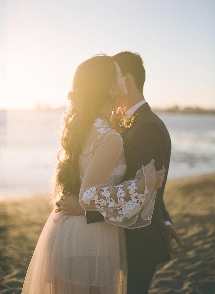 Bohemain Beach Anniversary couple Shoot by Aizhan