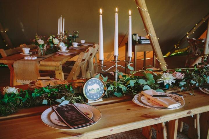 Romantic and Woodland Wedding Inspiration