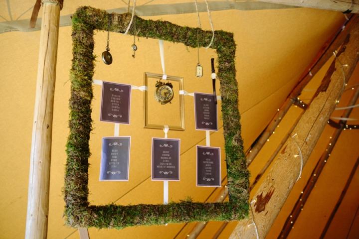 Woodland Wedding Tipi
