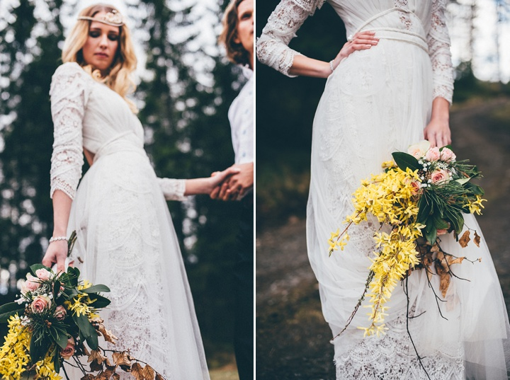 Vintage Scandinavian And Bohemian Wedding Inspiration