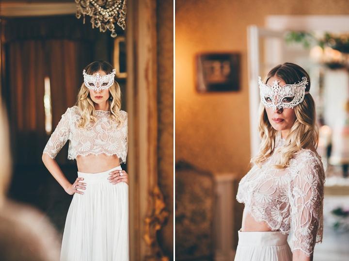 Vintage Scandinavian and Bohemian Wedding two piece Inspiration
