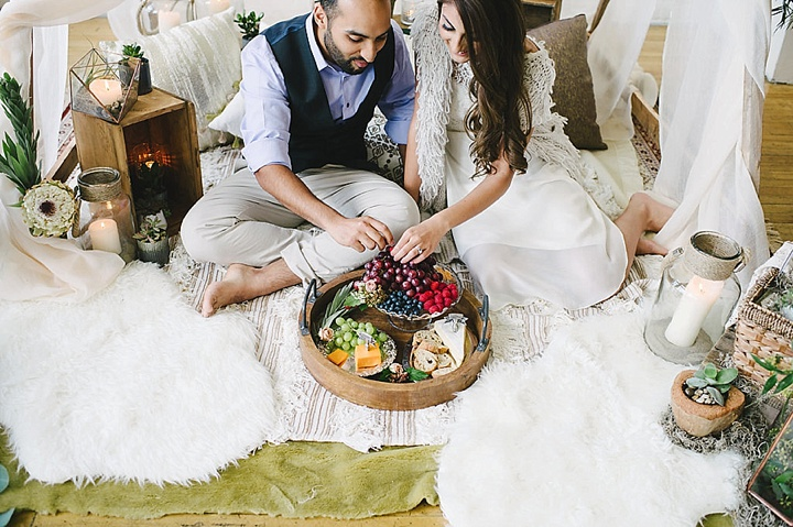Boho Inspired Portrait Session food - #snugglesesh