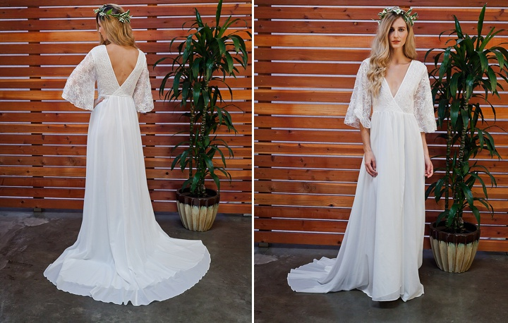 Bridal Style: The Eternal Romance Boho Bride Bridal Collection From Dreamers & Lovers