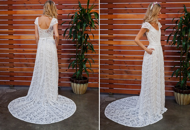 Bridal Style: The Eternal Romance Bridal Dress with pockets Collection From Dreamers & Lovers