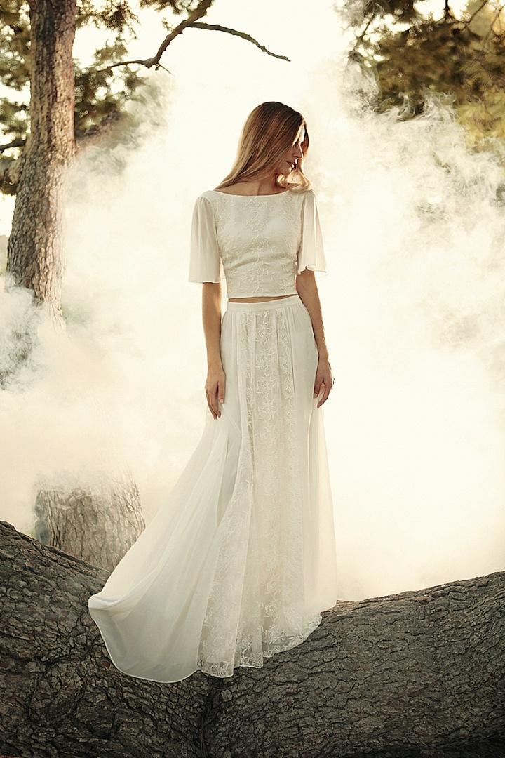 Bridal Style: The Eternal Romance Two piece Dress Bridal Collection From Dreamers & Lovers