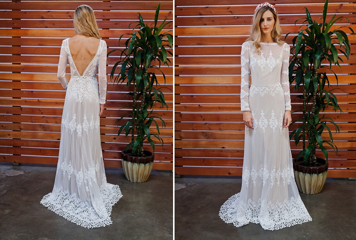 Bridal Style: The Eternal Romance Bridal Boho Backless Dress Collection From Dreamers & Lovers