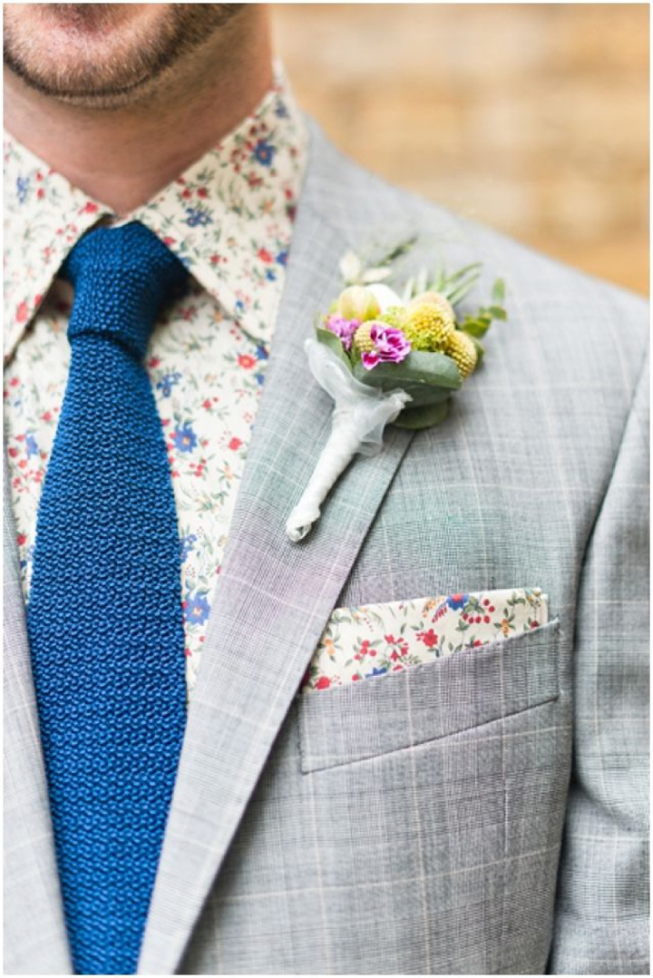 Boho Pins: Top 10 Pins of the Week from Pinterest - The buttonhole on the Groom