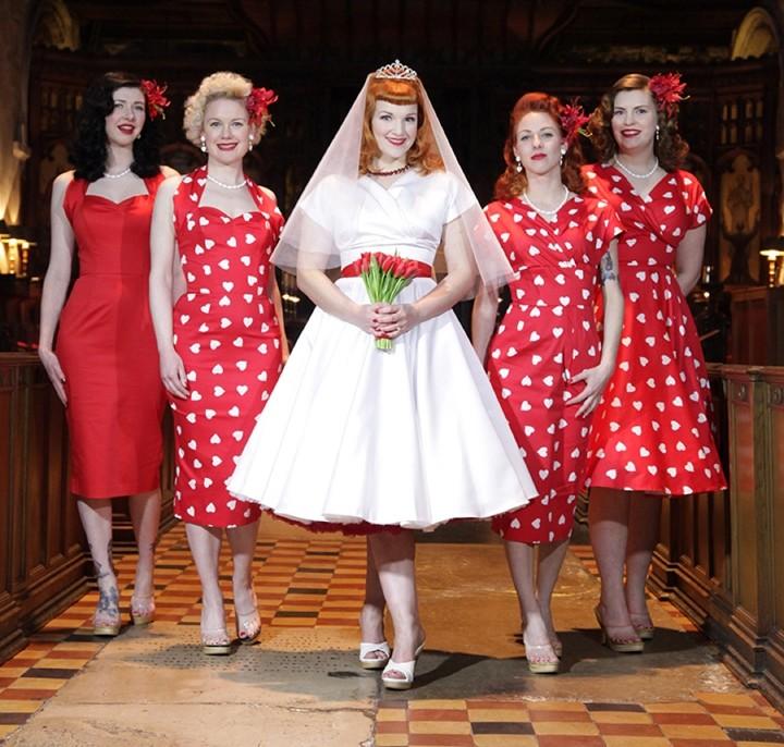 Boho Loves: Vivien of Holloway - Gorgeous 50's Inspired Bridal Wear