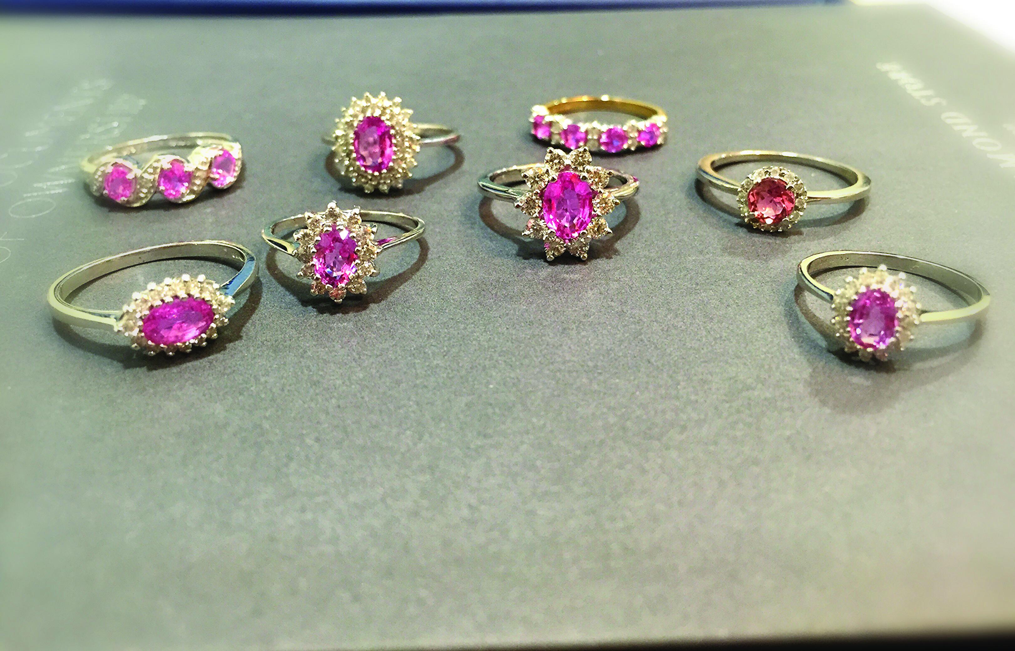 Ponk Sapphire rings