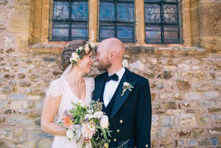 Camilla and Mike's Laid Back, Handmade Somerset Wedding by This and That Photography