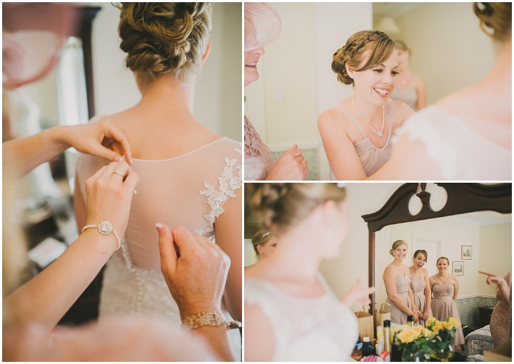 Devon bridesmaids Wedding at Colehayes Park By John Barwood Photography