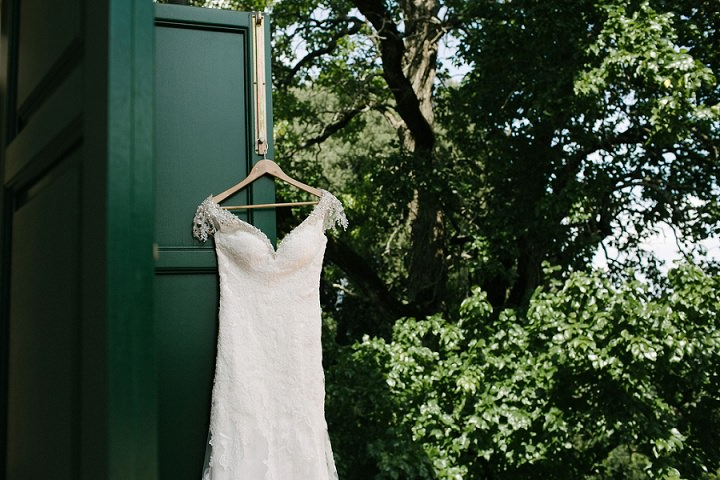 Tuscany hanging dress Wedding By Helen Abraham Photography