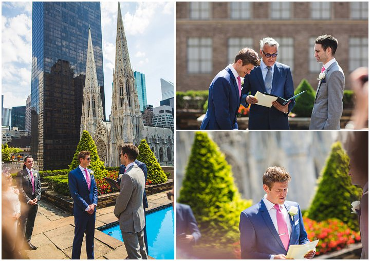 Epic same sex wedding New York Wedding By S6 Photography