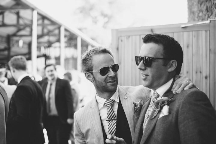 Yorkshire Barmbyfield Barns groomsmen Wedding By Stott and Atkinson