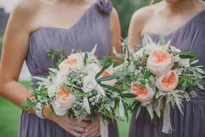 Emily and Jonny's Rustic Peach peony and Grey Barn Wedding By Soul Images