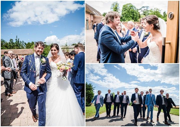 Wedding at Bassmead Manor Barn wedding party Cambridge By Dewan Demmer Photography