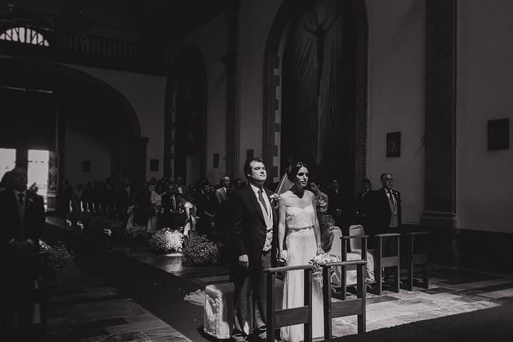 Rafa and Claudia's Mexico wedding in Valle de Bravo church By Paul Joseph Photography