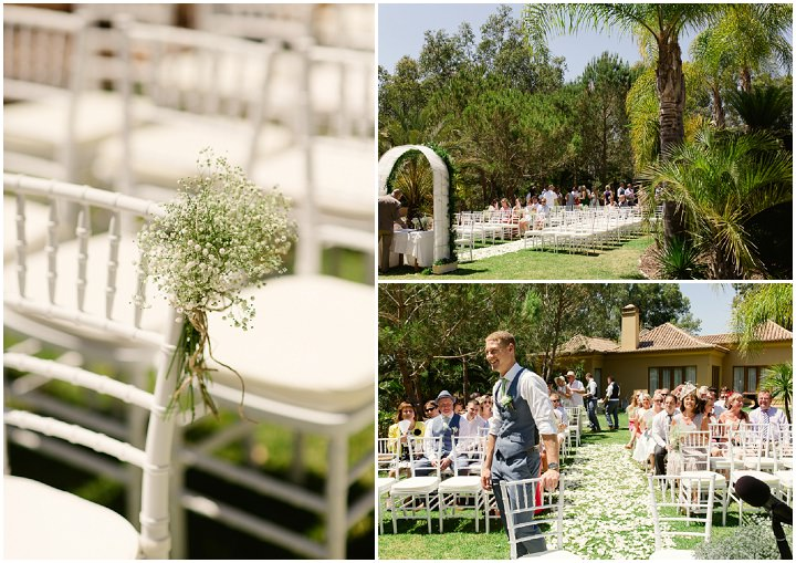 Portugal Outdoor Wedding in the Algarve By Matt and Lena Photography