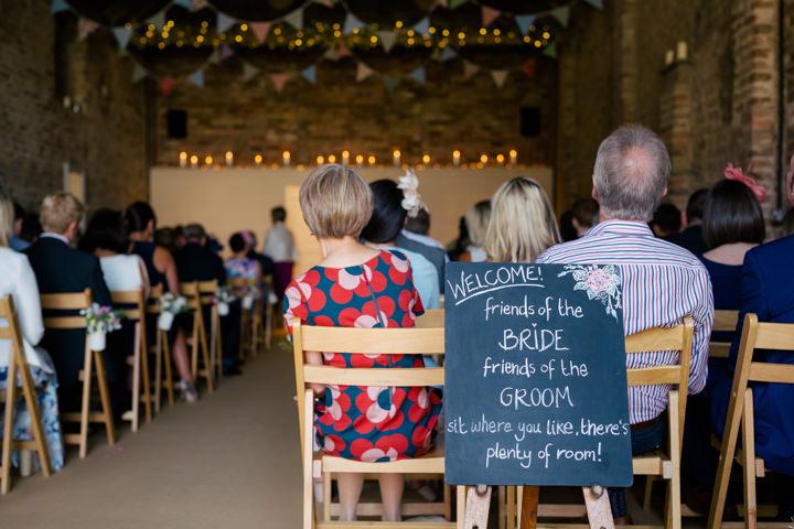 Yorkshire Barmbyfield ceremony Barns Wedding By Stott and Atkinson