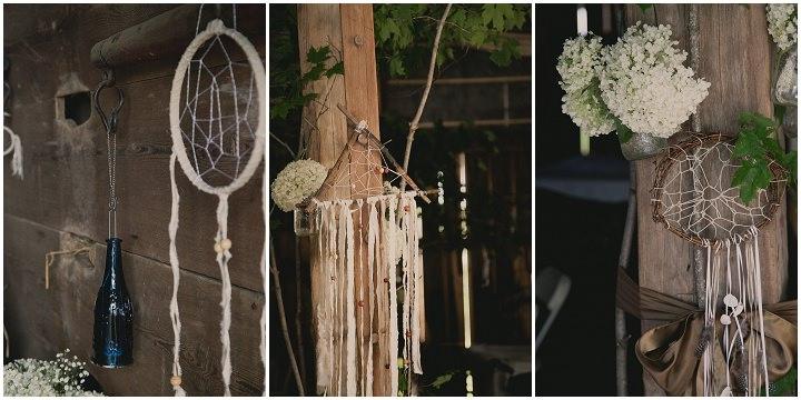 Bohemain Ontario Dream catcher Wedding By Sophia Lemon Photography