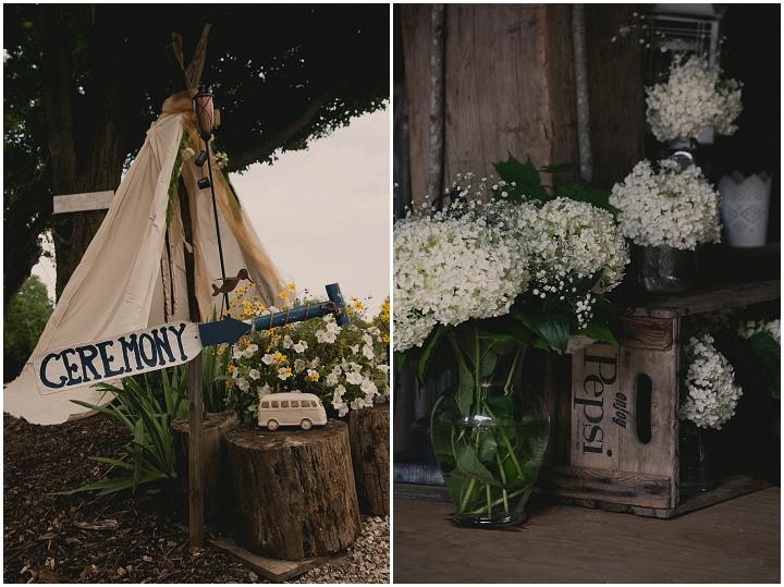 Bohemain wedding details Ontario Wedding By Sophia Lemon Photography