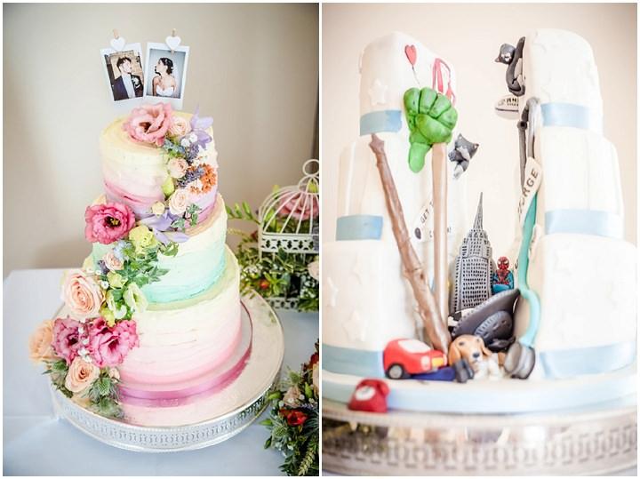 Wedding at Bassmead Manor Wedding Cake Barn Cambridge By Dewan Demmer Photography