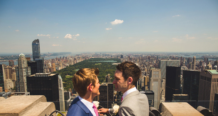 Epic New York Top of the Rock Wedding By S6 Photography
