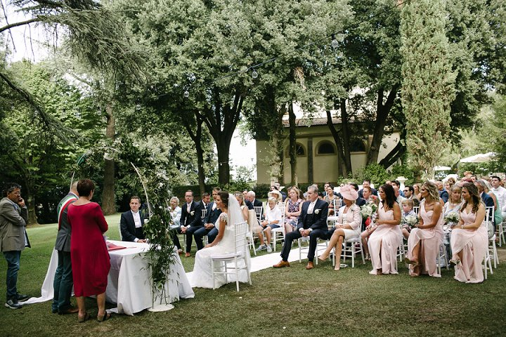 Tuscany outdoor ceremony Wedding By Helen Abraham Photography