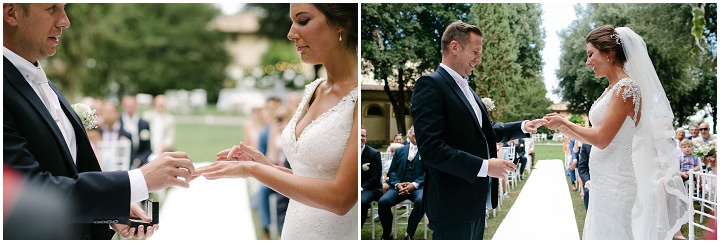 Tuscany vows Wedding By Helen Abraham Photography