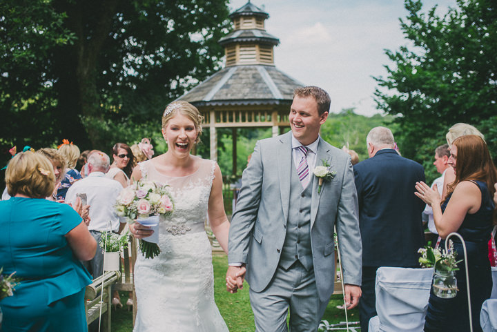 Devon Just married Wedding at Colehayes Park By John Barwood Photography