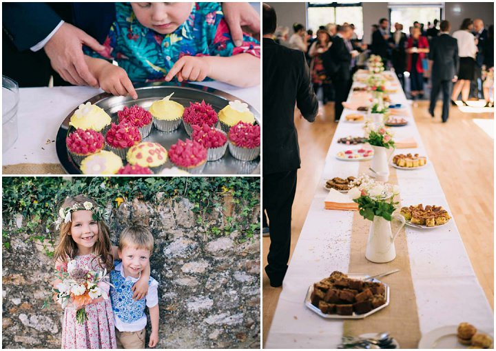 Wedding at The Haymeadow food in Somerset by This and That Photography