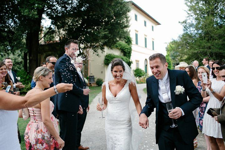 Tuscany confetti Wedding By Helen Abraham Photography