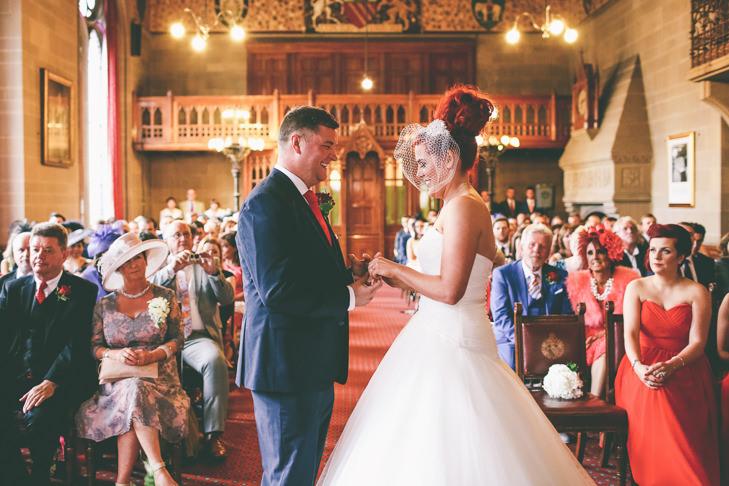 Modern Manchester Town Hall Wedding by Emma Boileau