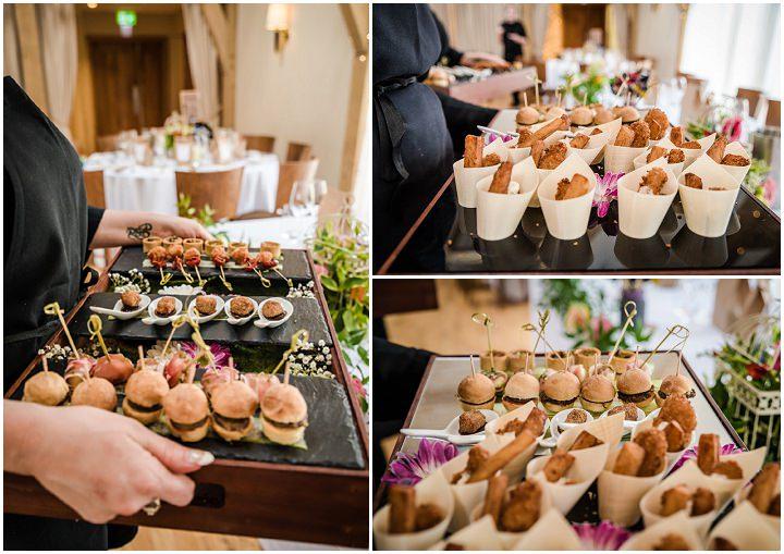 Wedding at Bassmead wedding food Manor Barn Cambridge By Dewan Demmer Photography