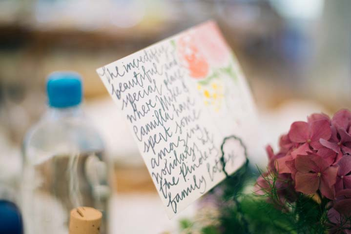 Wedding details at The Haymeadow in Somerset by This and That Photography