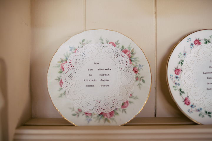 Yorkshire Barmbyfield Barns table plan Wedding By Stott and Atkinson