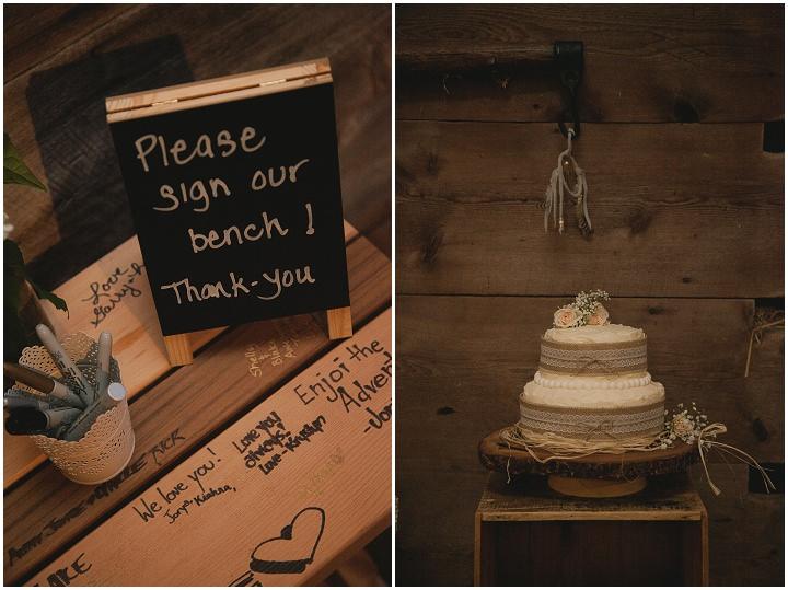 Bohemain Ontario wedding details Wedding By Sophia Lemon Photography