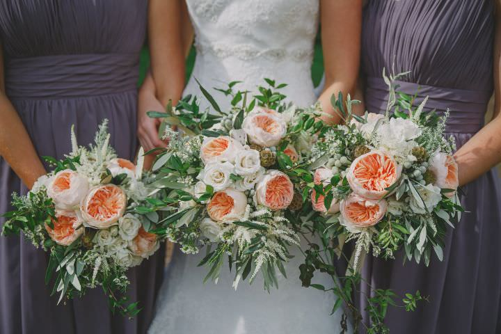 Emily and Jonny's Rustic Peach and Grey East Riddlesden Hall Barn Wedding By Soul Images
