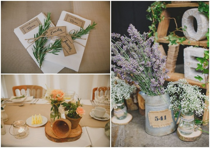 Emily and Jonny's Rustic East Riddleden Hall Peach and Grey Barn Wedding By Soul Images