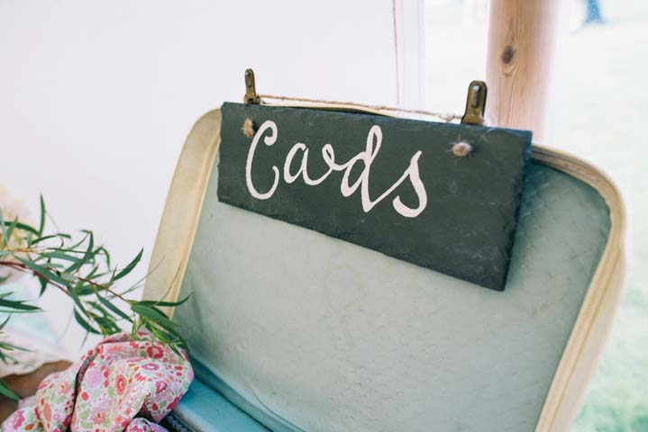 Wedding cards at The Haymeadow in Somerset by This and That Photography