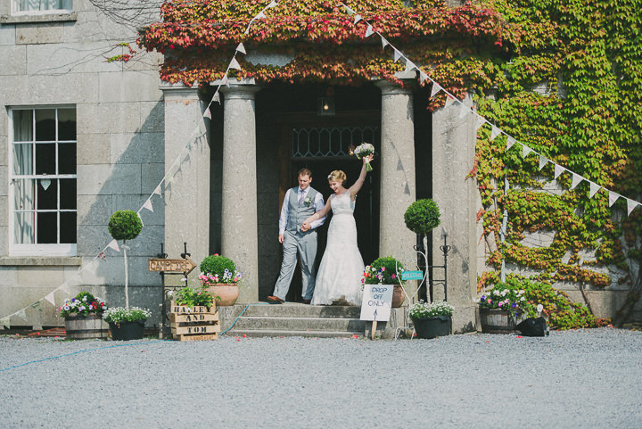 Devon bride and groom Wedding at Colehayes Park By John Barwood Photography