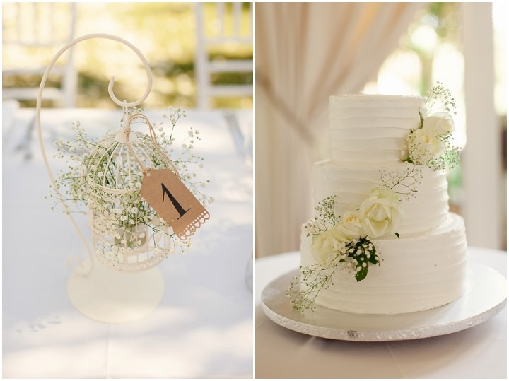 Portugal Wedding cake in the Algarve By Matt and Lena Photography