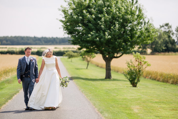 Yorkshire Barmbyfield Barns Wedding couple By Stott and Atkinsonn