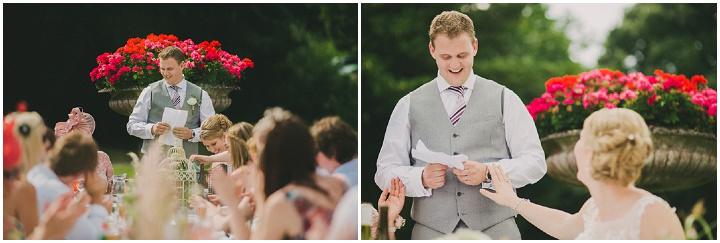 Devon Wedding reading at Colehayes Park By John Barwood Photography