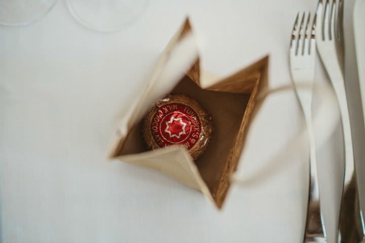 Scottish tunnocks teacakes Wedding with a Claire Pettibone dress By Christopher Currie